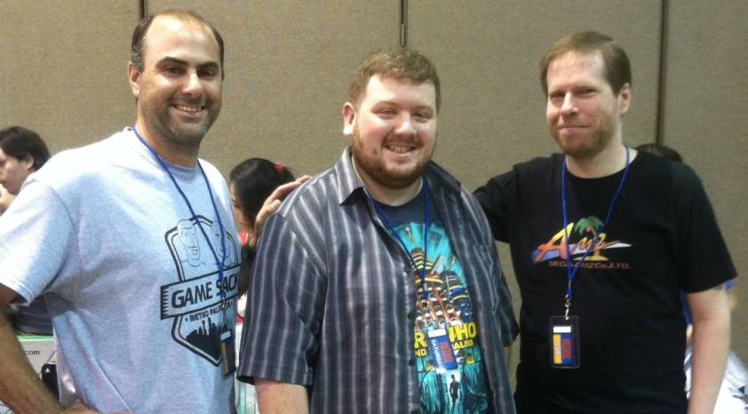 Picture taken with Joe and Dave of Game Sack